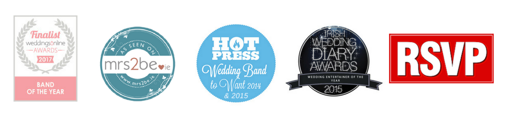 Continuously voted one of the top wedding bands in Ireland