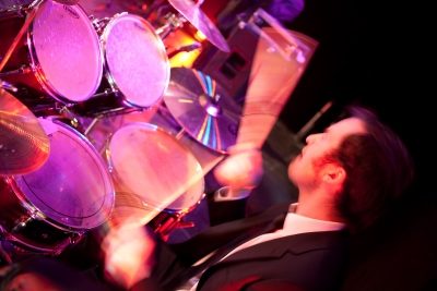 The bentley boys drum player