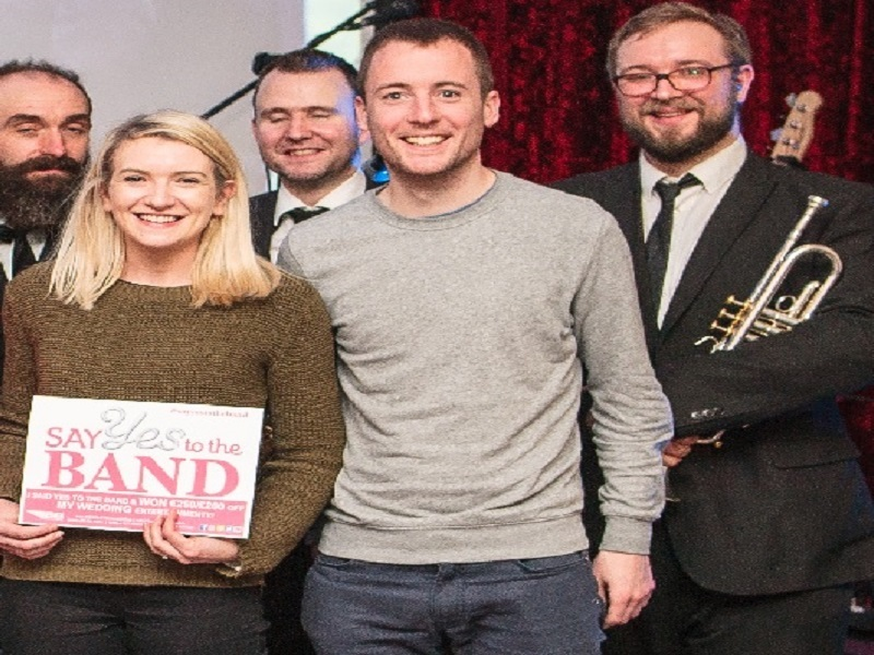 "Bentley Boys Belfat Showcase Tuesday 9th Jan ""Say YES to the BAND"" €250/£200 WINNER Sinéad! Congratulations!"