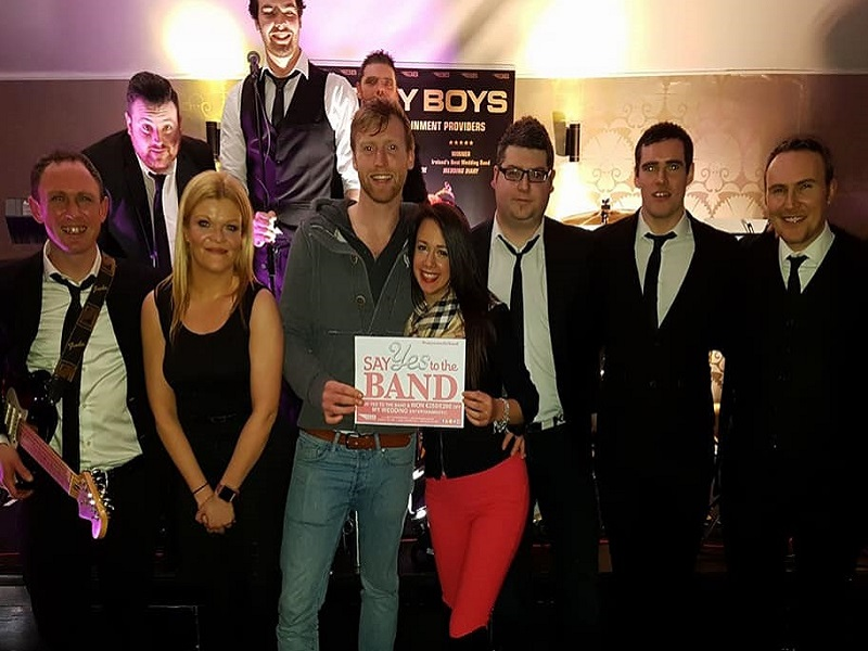 "Bentley Boys Dublin Showcase Wednesday 17th Jan ""Say YES to the BAND"" €250/£200 WINNERS Dominique (accepted by her brother Tom)! Congratulations!"