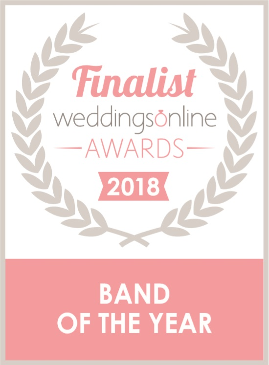 Weddings Online Band of the Year FINALIST 2018- The Bentley Boys