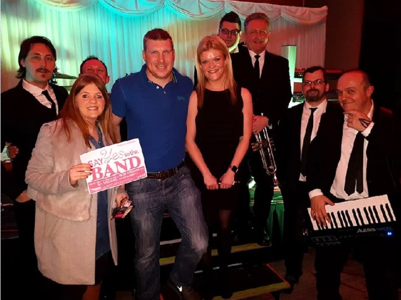 "Bentley Boys Cork Showcase Tuesday 16th Jan ""Say YES to the BAND"" €250/£200 WINNERS! Aileen & Steven! Congratulations!"