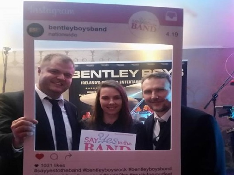 "Bentley Boys Dublin Showcase Wednesday 31st January ""Say YES to the BAND"" €250/£200 WINNERS Karen (accepted by her sister Lara)! Congratulations!"